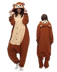 brown costume monkey kigurumi onesie pajamas animal costumes for