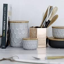 ustensiles de cuisine en cuivre pot à ustensiles métal cuivre rangement