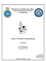 oop lab manual array data structure pointer computer programming