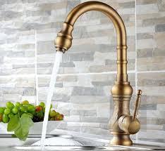 Antique Brass Kitchen Faucet Antique Brass Kitchen Faucet And 3 26 Antique Brass Kitchen