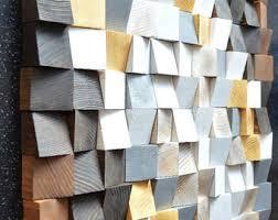 wood wall reclaimed wood mosaic wood geometric