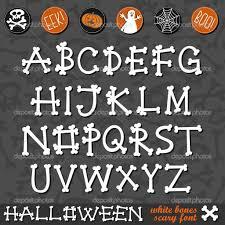 12 halloween alphabet fonts images halloween graffiti alphabet