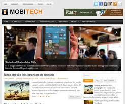mobitech blogger template blogger templates 2017