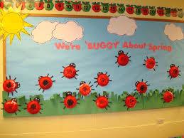 Preschool Bulletin Board Decorations Best 25 Ladybug Bulletin Boards Ideas On Pinterest Spring
