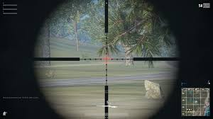 pubg 15x scope in case anyone has yet to see the 15x scope zoomed view