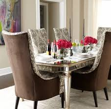 mirrored dining table sophie collection z gallerie intended for