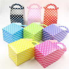 polka dot gift boxes polka dots theme gifts boxes candy box baby shower decoration