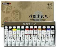 the watercolour log korean watercolour paints