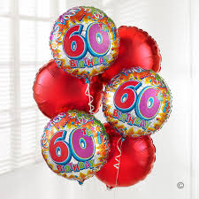 birthday delivery balloons uk gift delivery 60th birthday balloon bouquet isle of wight