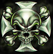 learn how to draw an iron cross skull skulls pop culture free