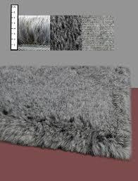 Flokati Area Rugs Ebern Designs Benes Faux Flokati Grey Area Rug U0026 Reviews Wayfair
