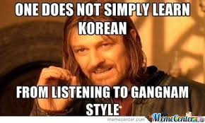 Learning Meme - learning korean by memevader meme center