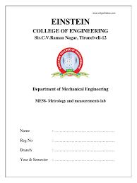 me2308 metrology and measurements lab manual gear tools