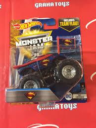 toy monster jam trucks superman dc heroes 1 2 2017 wheels monster jam case h grana toys