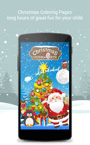 christmas coloring book santa game kids android apps