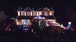 Christmas House Light Show by Dji Inspire 1 Extreme Christmas Light Show 2015 Youtube