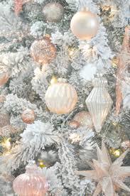 blush pink christmas decorations u2013 decoration image idea