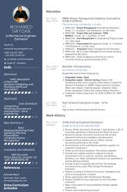 Resume Sample Of Mechanical Engineer Mechanical Engineer Resume Samples Visualcv Resume Samples Database