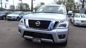nissan armada rear bumper used one owner 2017 nissan armada sv chicago il western ave nissan
