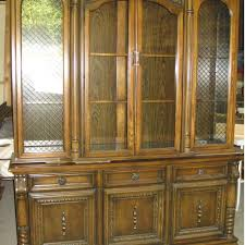 best beautiful huge 70 u0027s oak victorian dining china cabinet for