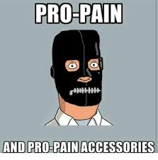 Meme Accessories - pro pain and pro pain accessories meme on me me