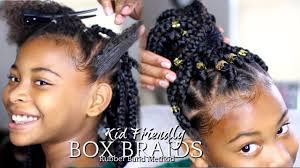 natural hairstyles for 58 years old natural hair how to box braids rubber band method kids