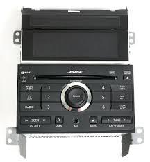 nissan maxima 2008 bose radio am fm 6 disc cd player aux input