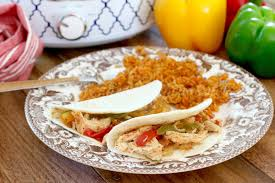 crock pot chicken fajitas the country cook