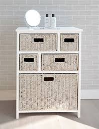 Seagrass Bathroom Storage Wicker Bath Storage Home Design Cabinets Mamak