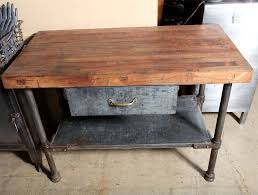 vintage kitchen work table vintage industrial kitchen work table at 1stdibs within tables
