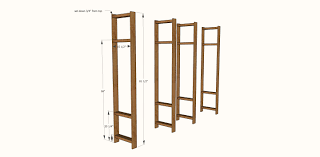 Building Wood Shelves 2x4 by Ana White Industrial Style Wood Slat Closet System With