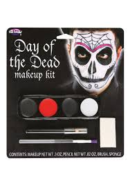 Halloween Eye Makeup Kits by Day Of The Dead Male Makeup Kit