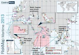 Pirates Map World U0027s Most Dangerous Shipping Areas Business Insider