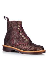 womens boots uk designer dr martens made in s page gold paisley boots