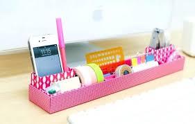 Colorful Desk Organizers Cool Desktop Organizer Ideas For Your Desk Clip On Desk