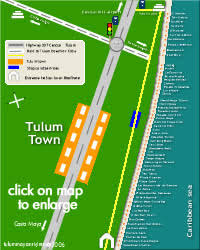 tulum map playa playacar tulum and mayan riviera maps in mexico