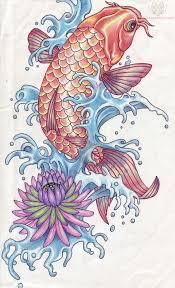 koi fish designs for