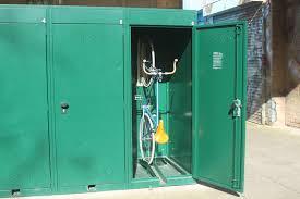 locker siege social vertical bike locker cyclehoop