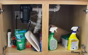 Under Sink Organizer Kitchen - under kitchen sink organization mommy suite
