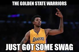 Warriors Memes - warriors sign nick young a k a swaggy golden state warriors