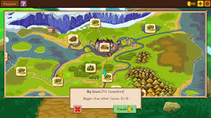 Paper Town Map Knights Of Pen And Paper 2 Pc Release Trailer Gamegrin