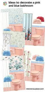 blue bathrooms decor ideas pink bathrooms decor ideas cfresearch co