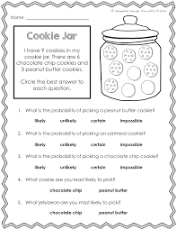 Bar Graph Worksheets 3rd Grade Our Probability Unit Worksheets Activities Lessons And
