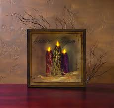 radiance flickering light canvas radiance lighted harvest thyme canvas homedecor pin anything