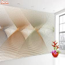 chambre 3d en ligne shinehome abstraite ligne espace papier peint pour chambres 3d photo