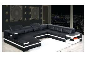 canape noir conforama canape noir angle cuir d dangle relax et blanc design convertible