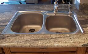 overmount sink on granite procedures