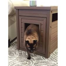 ecoflex jumbo litter loo hidden kitty litter box end table litter box furniture therobotechpage