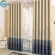 Single Panel Window Curtain Designs Single Panel Punching Window Curtains Mediterranean Bedroom