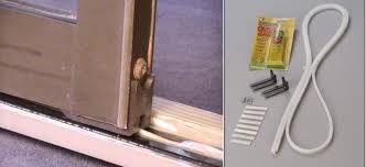 Patio Door Weather Stripping Pella Sliding Glass Door Weather Stripping Sliding Doors Design